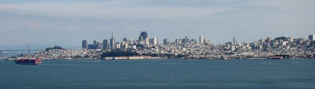 São Francisco vista de Sausalito