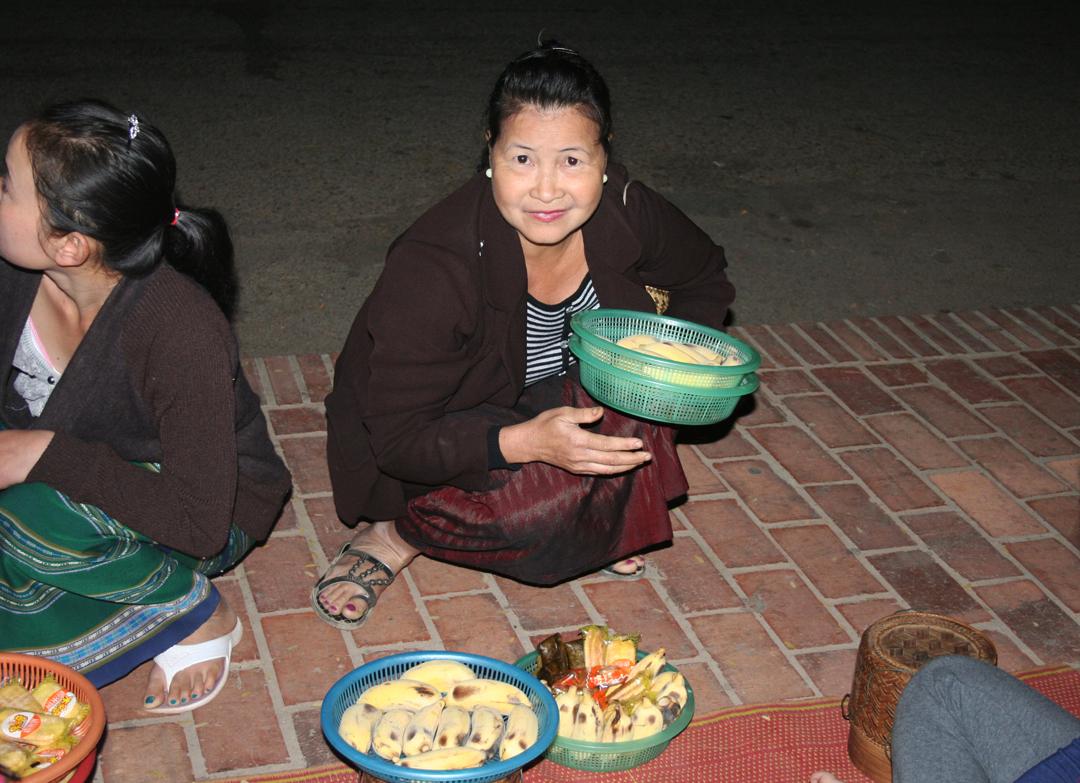 Mulher em Luang Prabang, Laos