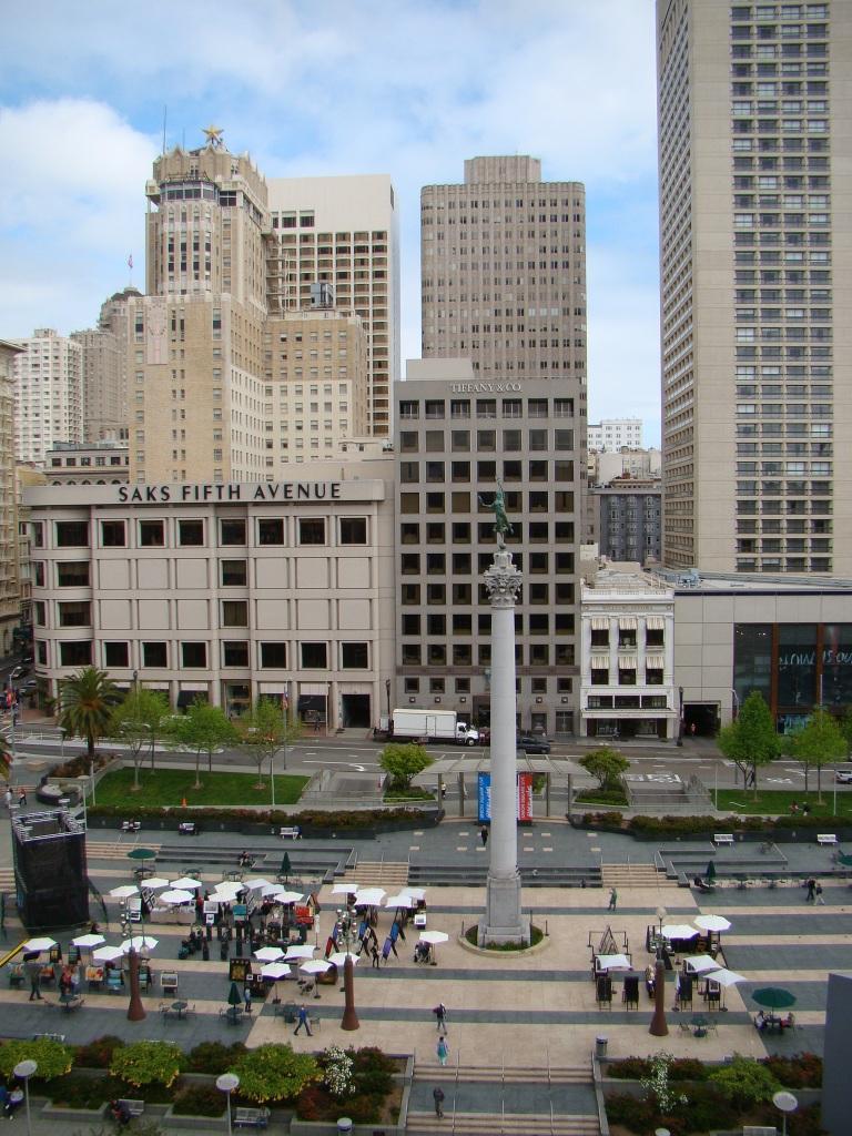 Vista da Cheese Cake Factory - San Francisco