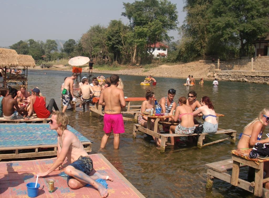 Lago em Vang Vien - Laos