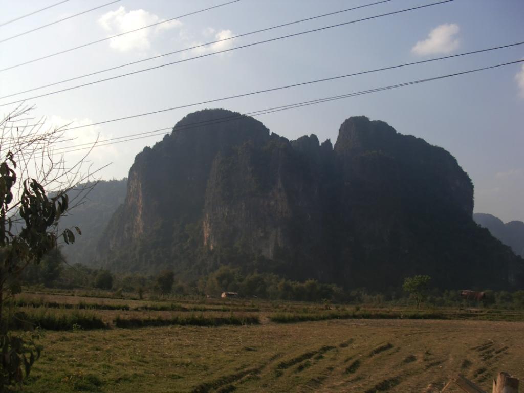 Trajeto Vang Vien -Laos