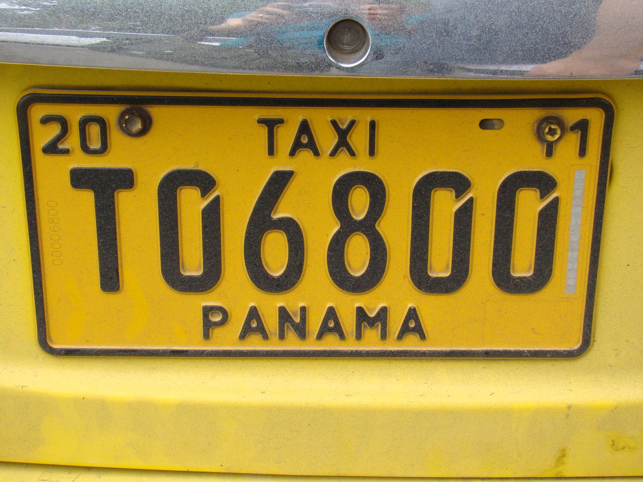 Taxi no Panamá