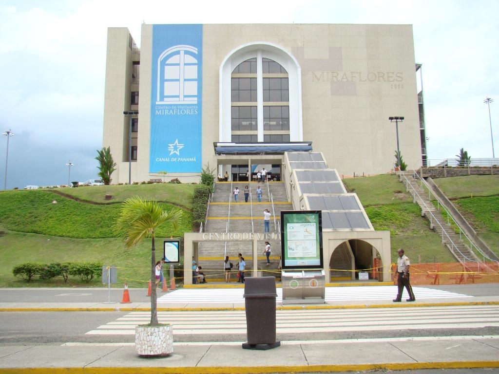 Entrada do centro de Visitas de Miraflores