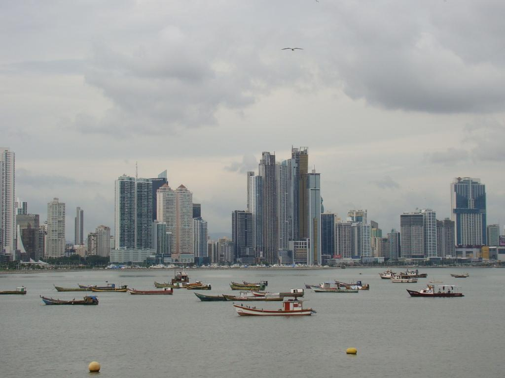 Cidade do Panamá - parte moderna