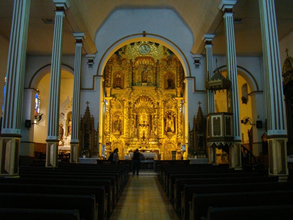 Altar de ouro - Panamá