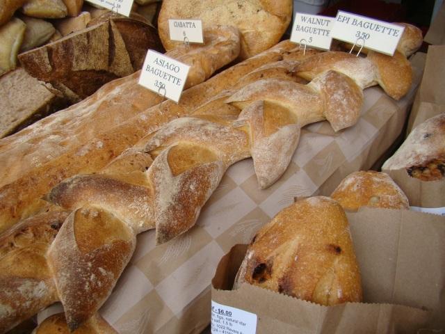 Pães do Farmer's Market - Castro