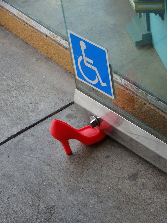 Prendedor de porta no Castro - San Francisco