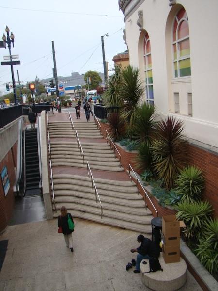Praça Harvey Milk - Castro