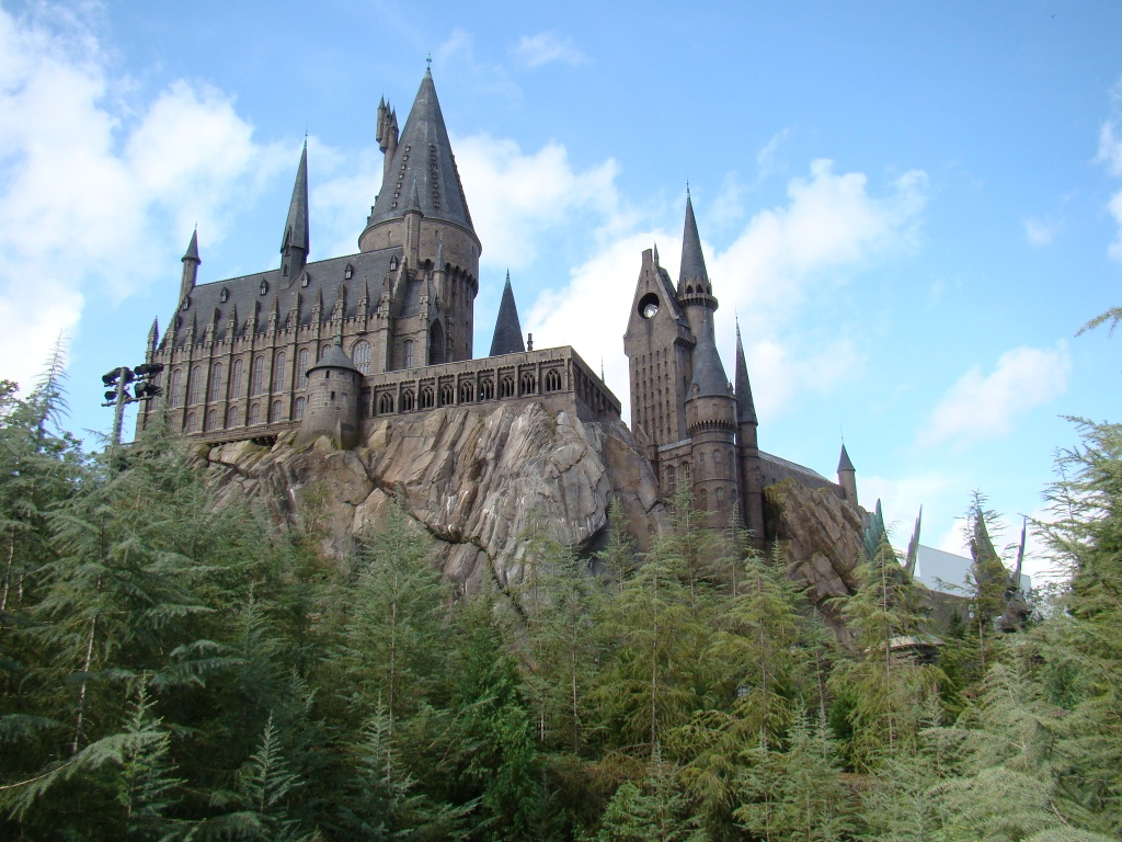 Castelo do Harry Potter - Islands of Adventure