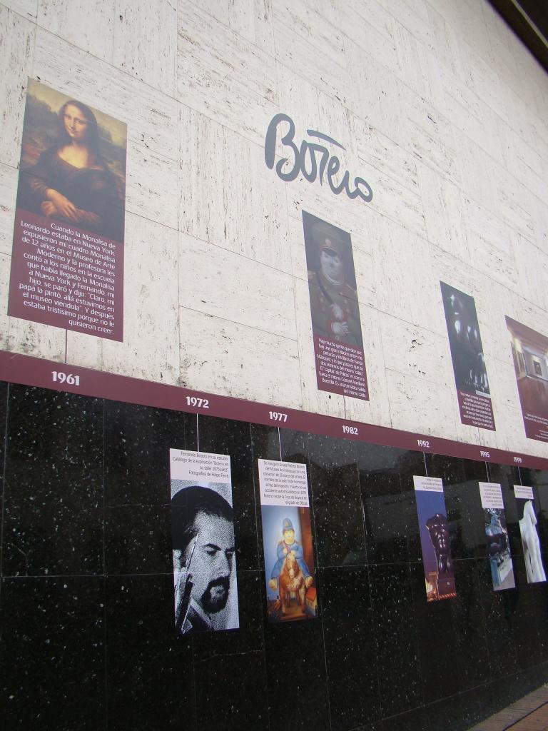 Cronologia - Museu Botero