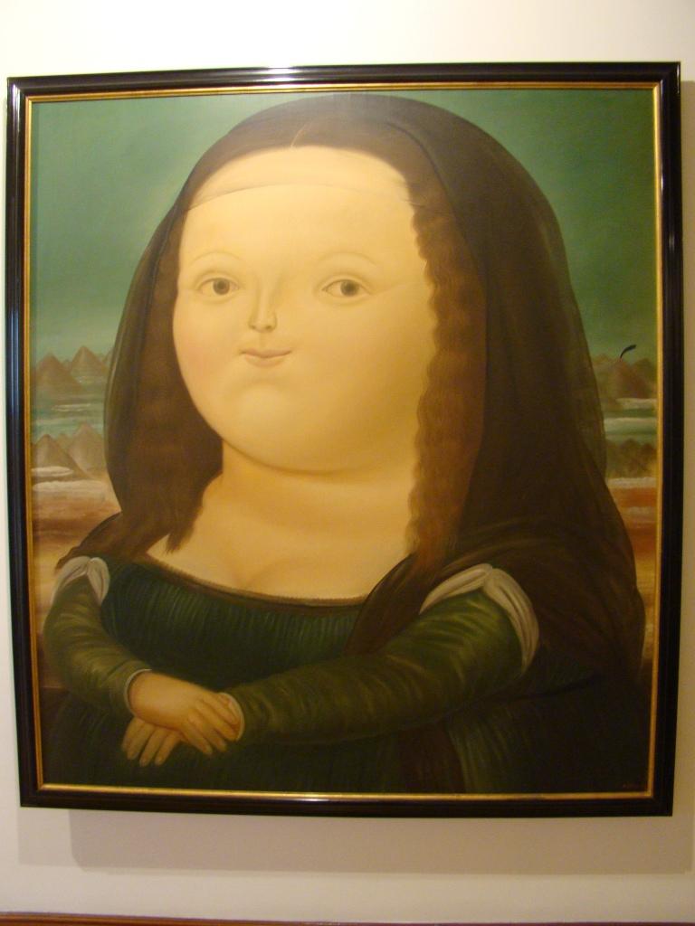 Monalisa de Botero - Bogota