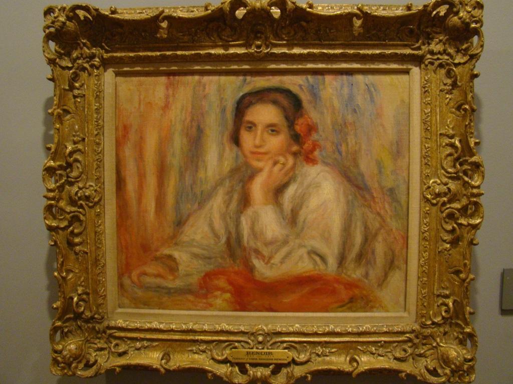 Renoir: Vera Sergine Renoir - Museu Botero - Bogota