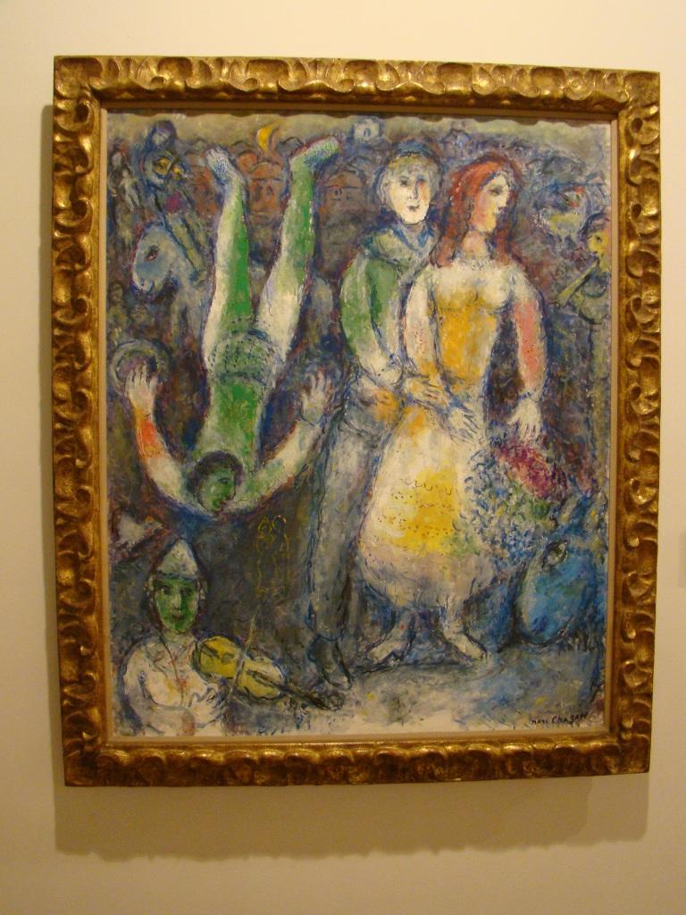 Marc Chagall - Museu Botero- Bogota