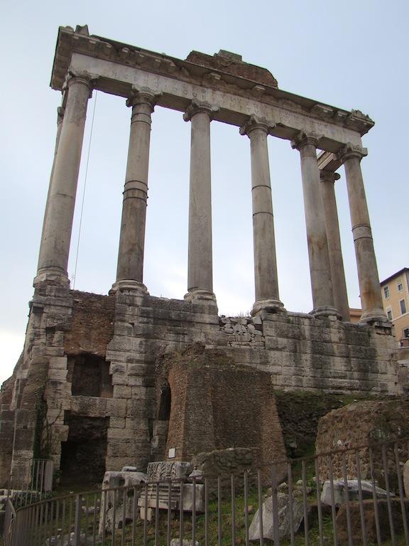 Ruínas do Palatino - Roma