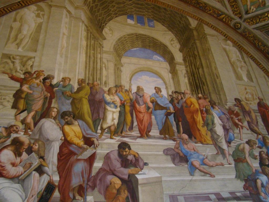 Museu do Vaticano - A escola de Atenas