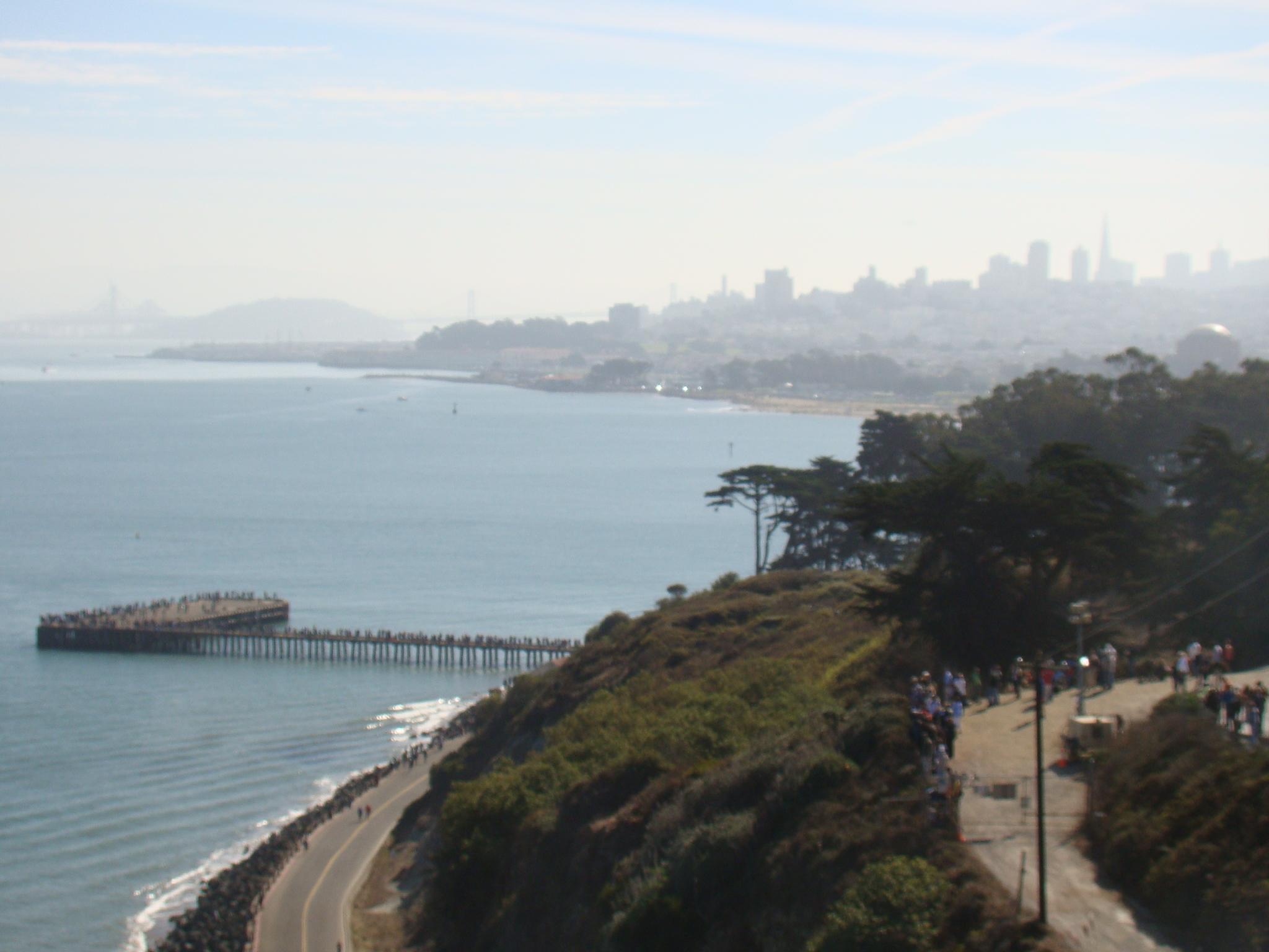 San Francisco vista da Golden Gate