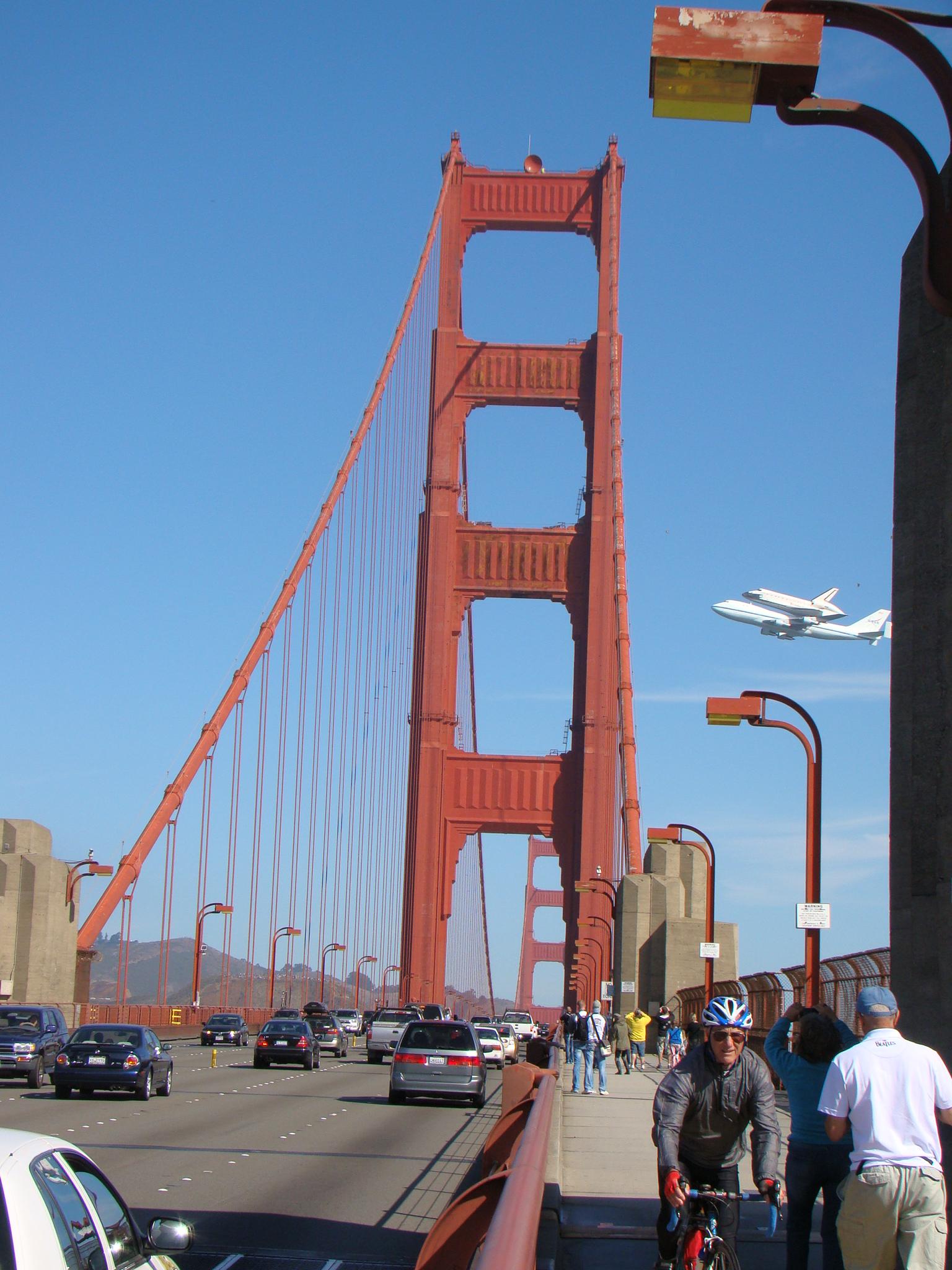 Endeavor Golden Gate Brigde