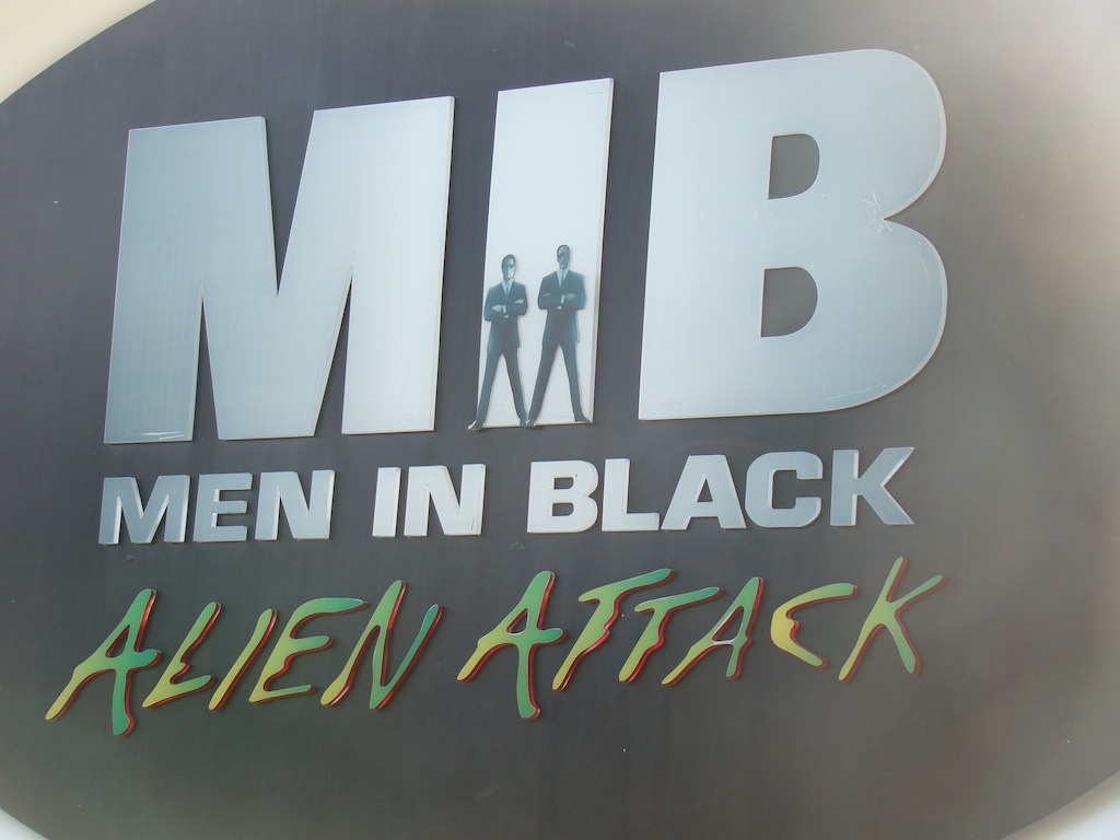 Men in Black - Universal Studios - Orlando